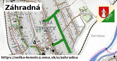 ilustračný obrázok k Záhradná, Veľká Lomnica