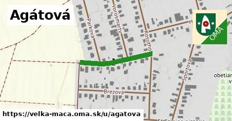 ilustrácia k Agátová, Veľká Mača - 237m