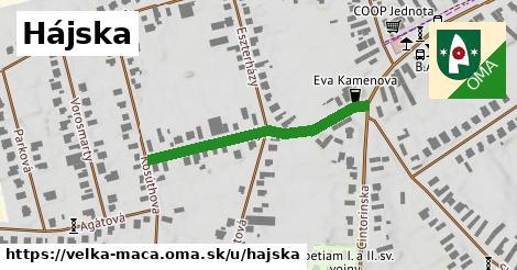 ilustrácia k Hájska, Veľká Mača - 339m