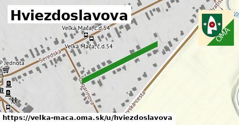 ilustrácia k Hviezdoslavova, Veľká Mača - 262m
