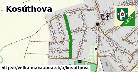 ilustračný obrázok k Kosúthova, Veľká Mača