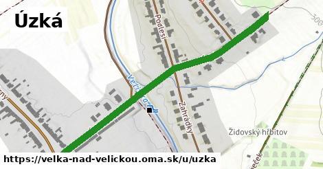ilustrácia k Úzká, Velká nad Veličkou - 590m