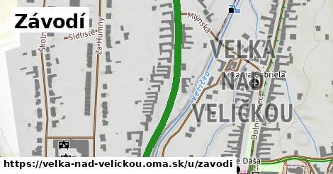 ilustrácia k Závodí, Velká nad Veličkou - 478m
