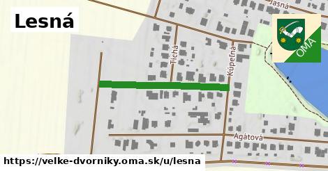 ilustrácia k Lesná, Veľké Dvorníky - 186m