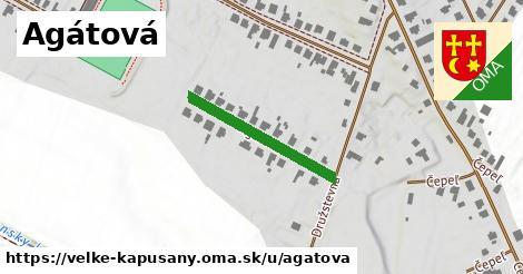 ilustrácia k Agátová, Veľké Kapušany - 239m