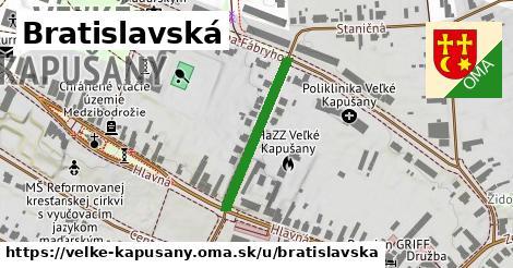 ilustrácia k Bratislavská, Veľké Kapušany - 240m