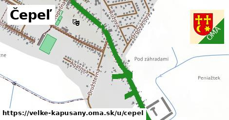 ilustrácia k Čepeľ, Veľké Kapušany - 1,12km