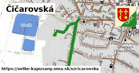 ilustrácia k Čičarovská, Veľké Kapušany - 0,84km