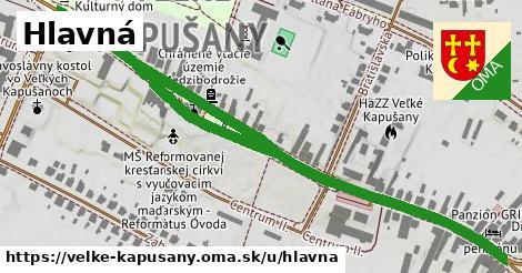 ilustrácia k Hlavná, Veľké Kapušany - 0,99km