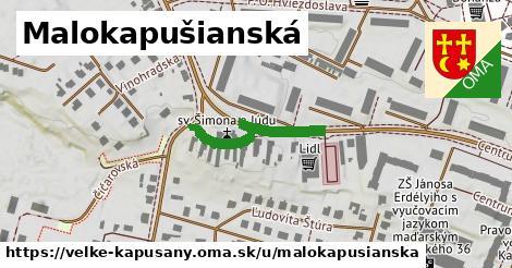 ilustrácia k Malokapušianská, Veľké Kapušany - 0,89km