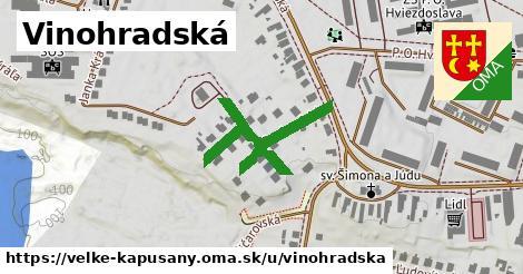 ilustrácia k Vinohradská, Veľké Kapušany - 281m