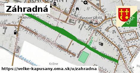 ilustrácia k Záhradná, Veľké Kapušany - 1,13km