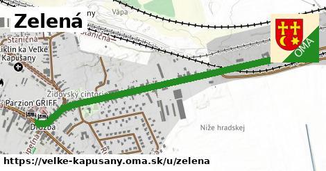 ilustrácia k Zelená, Veľké Kapušany - 1,24km