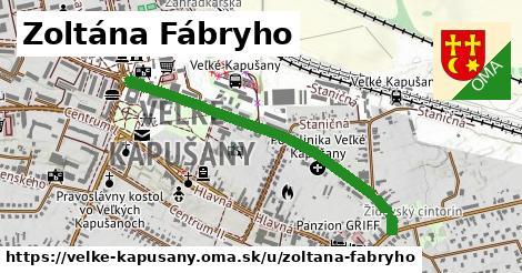 ilustrácia k Zoltána Fábryho, Veľké Kapušany - 1,39km