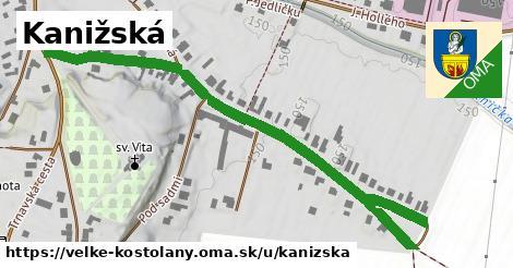ilustrácia k Kanižská, Veľké Kostoľany - 0,76km
