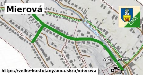 ilustrácia k Mierová, Veľké Kostoľany - 0,71km