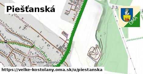 ilustrácia k Piešťanská, Veľké Kostoľany - 0,86km