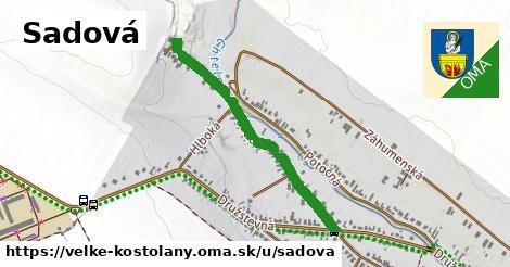 ilustrácia k Sadová, Veľké Kostoľany - 483m
