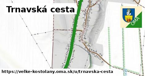 ilustrácia k Trnavská cesta, Veľké Kostoľany - 1,01km