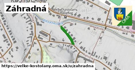 ilustrácia k Záhradná, Veľké Kostoľany - 128m