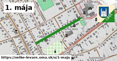 ilustrácia k 1. mája, Veľké Leváre - 335m