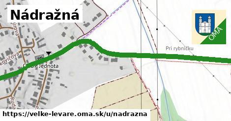 ilustrácia k Nádražná, Veľké Leváre - 1,01km