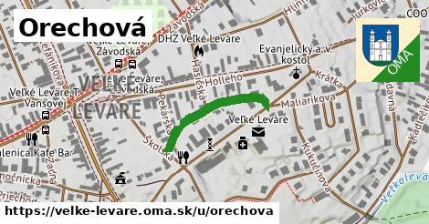 ilustrácia k Orechová, Veľké Leváre - 223m