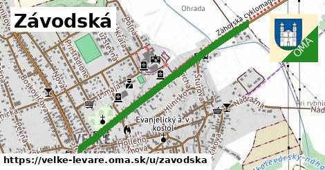ilustrácia k Závodská, Veľké Leváre - 0,91km