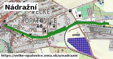 ilustrácia k Nádražní, Velké Opatovice - 1,68km