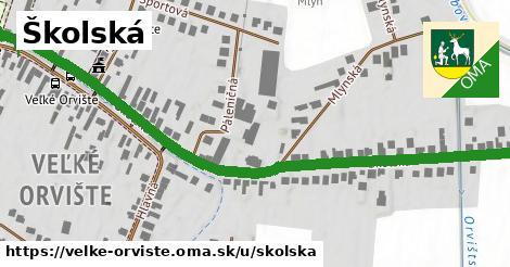 ilustrácia k Školská, Veľké Orvište - 0,82km