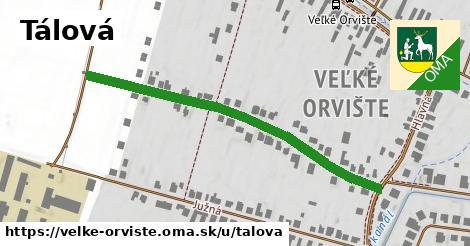 ilustrácia k Tálová, Veľké Orvište - 512m