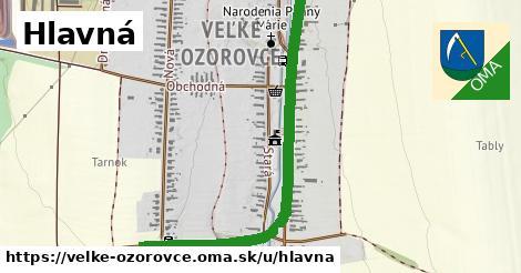 ilustrácia k Hlavná, Veľké Ozorovce - 1,33km