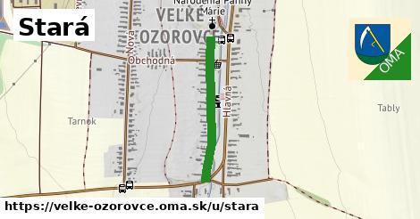 ilustrácia k Stará, Veľké Ozorovce - 514m
