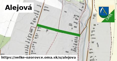 ilustrácia k Alejová, Veľké Ozorovce - 280m