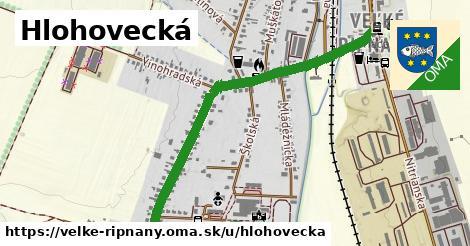 ilustrácia k Hlohovecká, Veľké Ripňany - 1,20km