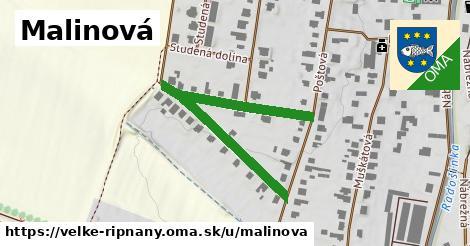 ilustrácia k Malinová, Veľké Ripňany - 488m