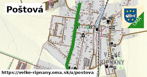 ilustrácia k Poštová, Veľké Ripňany - 0,75km