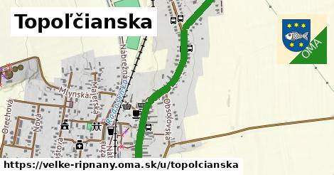 ilustrácia k Topoľčianska, Veľké Ripňany - 1,04km