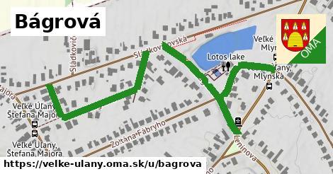 ilustrácia k Bágrová, Veľké Úľany - 618m