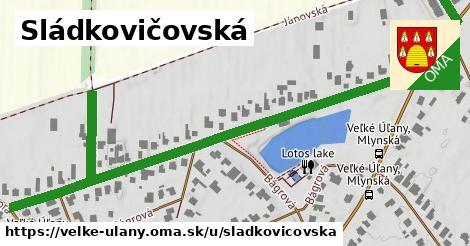 ilustrácia k Sládkovičovská, Veľké Úľany - 696m