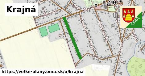ilustrácia k Krajná, Veľké Úľany - 465m
