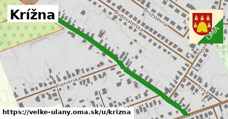 ilustrácia k Krížna, Veľké Úľany - 612m