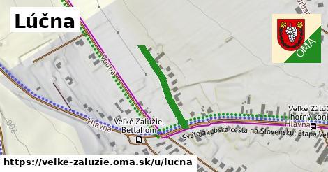 ilustrácia k Lúčna, Veľké Zálužie - 214m