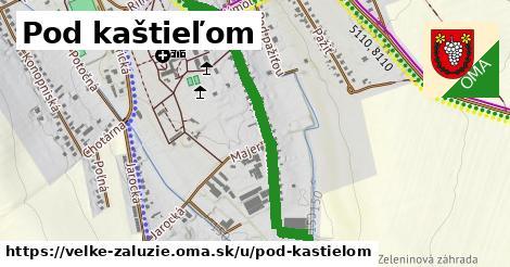 ilustrácia k Pod kaštieľom, Veľké Zálužie - 1,15km