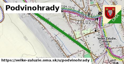 ilustrácia k Podvinohrady, Veľké Zálužie - 0,95km