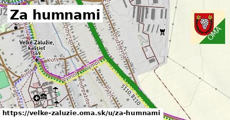 ilustrácia k Za humnami, Veľké Zálužie - 3,2km