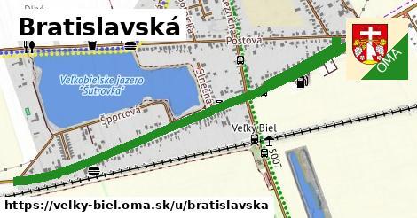 ilustrácia k Bratislavská, Veľký Biel - 1,34km