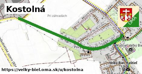 ilustrácia k Kostolná, Veľký Biel - 1,22km