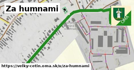 ilustrácia k Za humnami, Veľký Cetín - 1,09km