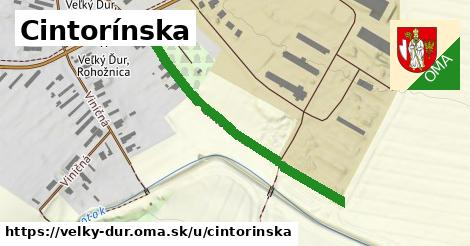 ilustrácia k Cintorínska, Veľký Ďur - 452m